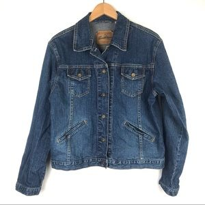 Levi's oversized denim trucker jacket